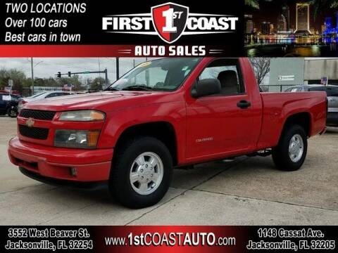 2005 Chevrolet Colorado for sale at 1st Coast Auto -Cassat Avenue in Jacksonville FL