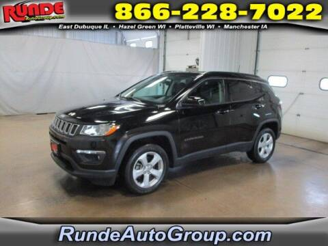 2018 Jeep Compass for sale at Runde PreDriven in Hazel Green WI