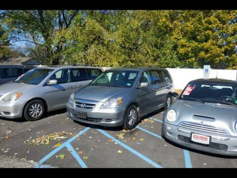 2007 Honda Odyssey for sale at Colonial Motors in Mine Hill NJ