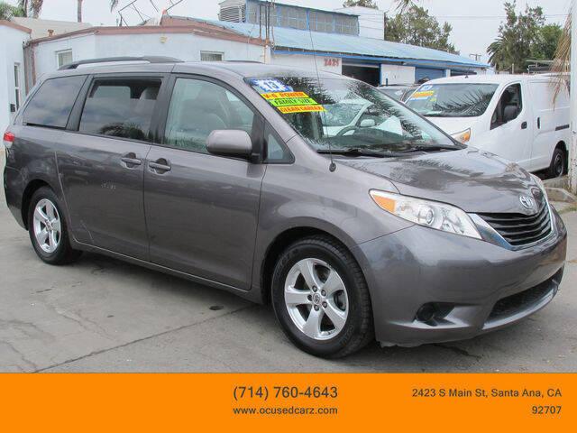 2013 Toyota Sienna for sale in Santa Ana, CA
