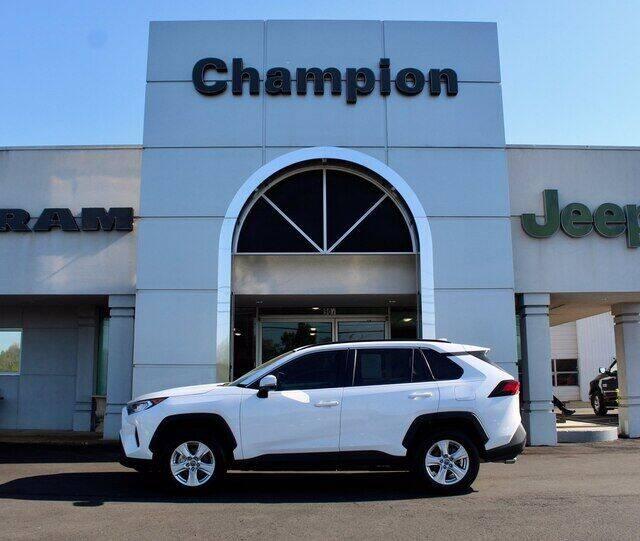 2021 Toyota RAV4 for sale at Champion Chevrolet in Athens AL