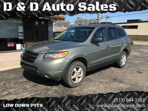 2007 Hyundai Santa Fe for sale at D & D Auto Sales in Hamilton OH