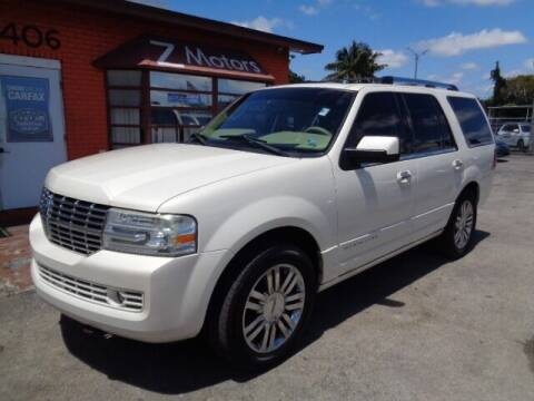 2007 Lincoln Navigator for sale at Z MOTORS INC in Hollywood FL