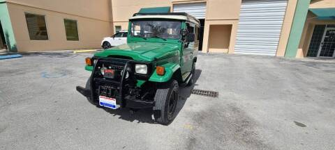 1990 Toyota Land Cruiser for sale at ADVANCE AUTOMALL in Doral FL