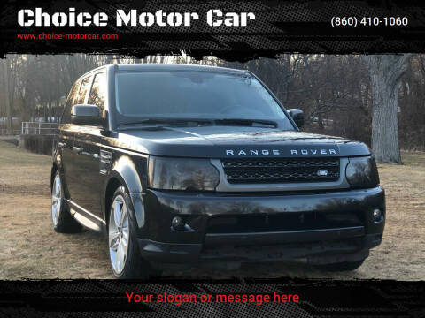 2010 Land Rover Range Rover Sport for sale at Choice Motor Car in Plainville CT