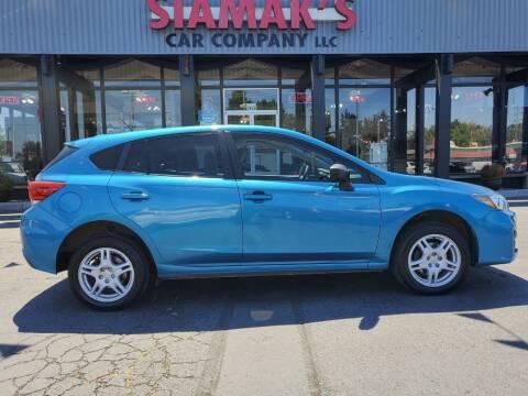 2017 Subaru Impreza for sale at Siamak's Car Company llc in Salem OR