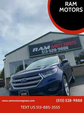 2016 Ford Edge for sale at RAM MOTORS in Cincinnati OH