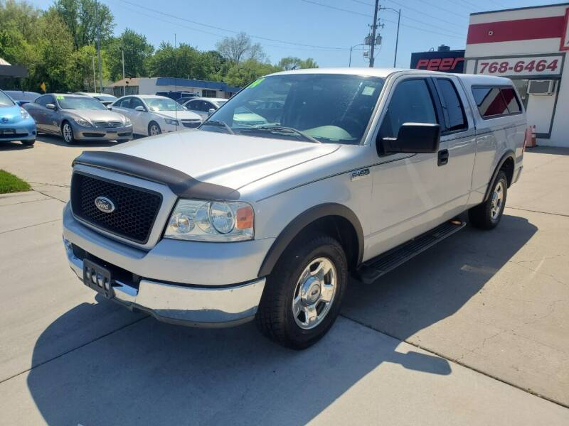 2004 Ford F-150 for sale at Quallys Auto Sales in Olathe KS