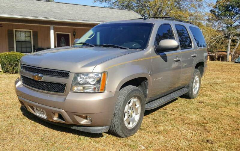 2007 Chevrolet Tahoe for sale at Victory Auto Sales LLC in Mooreville MS