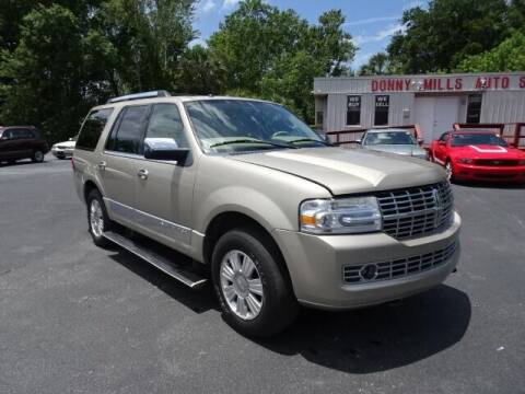 2008 Lincoln Navigator for sale at DONNY MILLS AUTO SALES in Largo FL