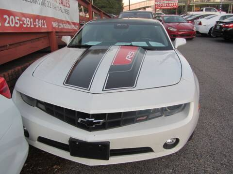 2010 Chevrolet Camaro for sale at Colvin Auto Sales in Tuscaloosa AL