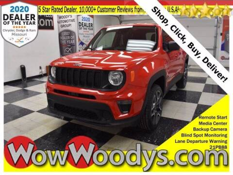 2021 Jeep Renegade for sale at WOODY'S AUTOMOTIVE GROUP in Chillicothe MO