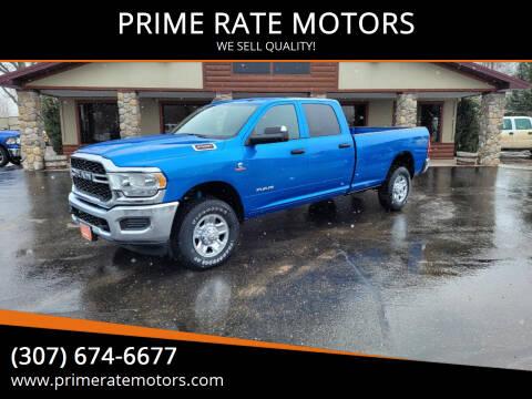 2021 RAM Ram Pickup 2500 for sale at PRIME RATE MOTORS in Sheridan WY