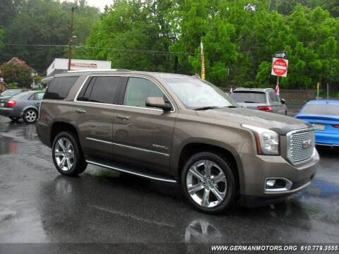 2016 GMC Yukon for sale at Mair's Continental Motors in Reading PA