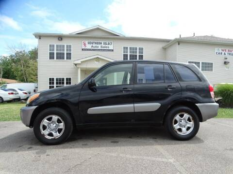 2003 Toyota RAV4 for sale at SOUTHERN SELECT AUTO SALES in Medina OH