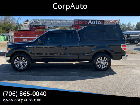 2012 Ford F-150 for sale at CorpAuto in Cleveland GA