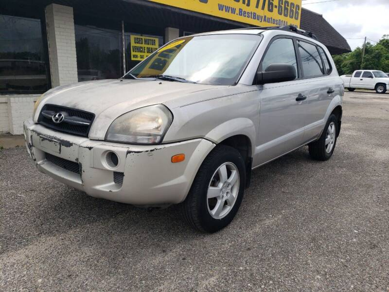 2005 Hyundai Tucson for sale at Best Buy Autos in Mobile AL