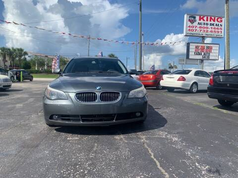 2007 BMW 5 Series for sale at King Auto Deals in Longwood FL
