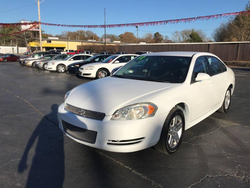 2012 Chevrolet Impala for sale at IMPALA MOTORS in Memphis TN