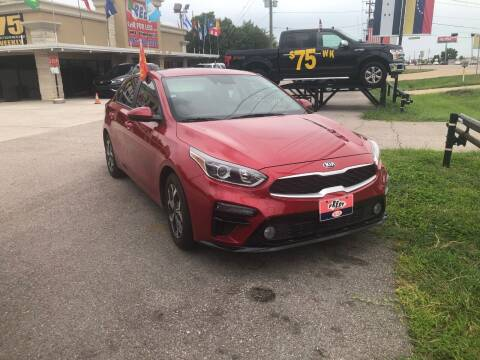 2019 Kia Forte for sale at FREDY CARS FOR LESS in Houston TX