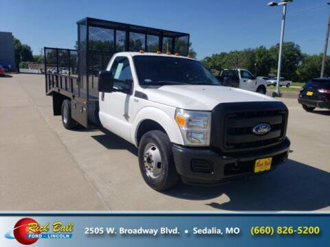 2011 Ford F-350 Super Duty for sale at RICK BALL FORD in Sedalia MO