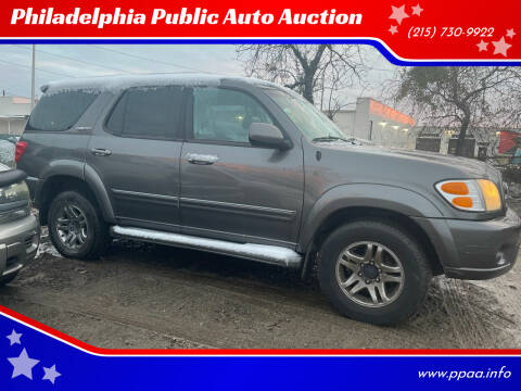 2004 Toyota Sequoia for sale at Philadelphia Public Auto Auction in Philadelphia PA