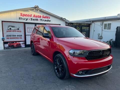 2015 Dodge Durango for sale at Speed Auto Sales in El Cajon CA