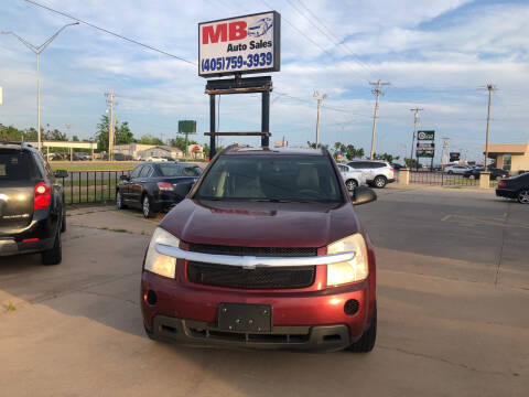 2008 Chevrolet Equinox for sale at MB Auto Sales in Oklahoma City OK