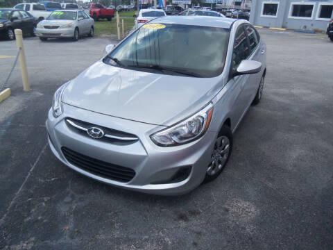 2017 Hyundai Accent for sale at ORANGE PARK AUTO in Jacksonville FL