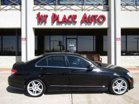 2009 Mercedes-Benz C-Class for sale at First Place Auto Ctr Inc in Watauga TX