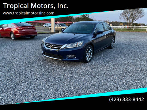 2013 Honda Accord for sale at Tropical Motors, Inc. in Riceville TN