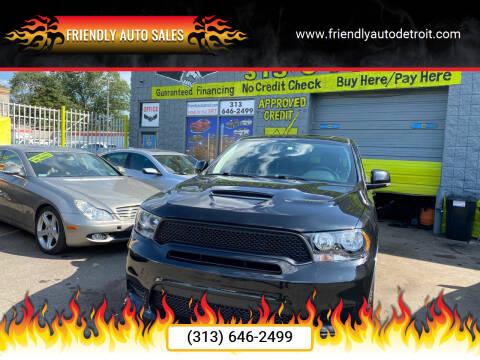 2013 Dodge Durango for sale at Friendly Auto Sales in Detroit MI
