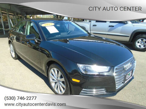 2017 Audi A4 for sale at City Auto Center in Davis CA