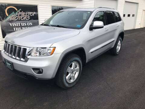 2012 Jeep Grand Cherokee for sale at HILLTOP MOTORS INC in Caribou ME