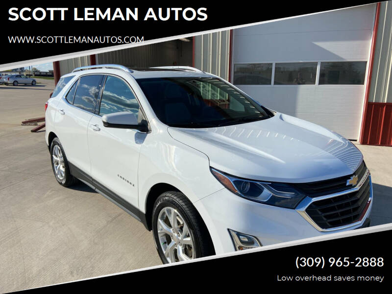 2018 Chevrolet Equinox for sale at SCOTT LEMAN AUTOS in Goodfield IL