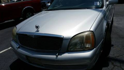 2002 Cadillac DeVille for sale at AFFORDABLE DISCOUNT AUTO in Humboldt TN