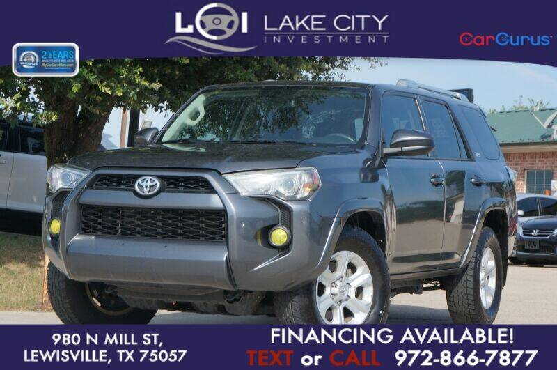 2016 Toyota 4Runner for sale in Lewisville, TX
