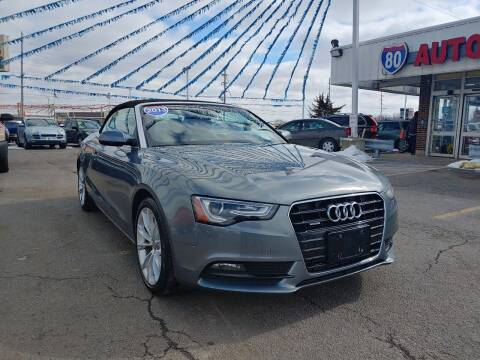 2013 Audi A5 for sale at I-80 Auto Sales in Hazel Crest IL