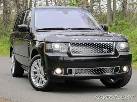 2012 Land Rover Range Rover for sale at Isuzu Classic in Cream Ridge NJ
