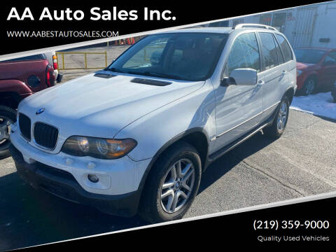 2004 BMW X5 for sale at AA Auto Sales Inc. in Gary IN