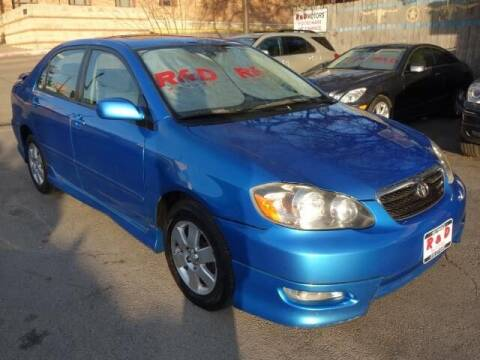 2008 Toyota Corolla for sale at R & D Motors in Austin TX