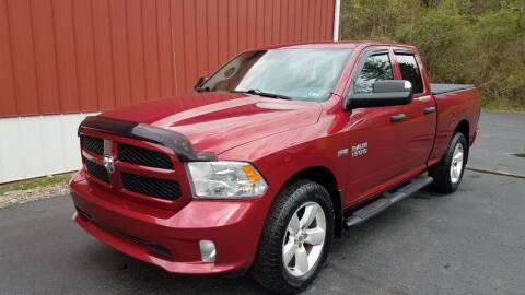 2013 RAM Ram Pickup 1500 for sale at North East Locaters Auto Sales in Indiana PA