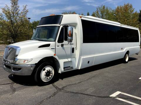 2011 International Krystal 36 Passenger Shuttle for sale at Major Vehicle Exchange in Westbury NY