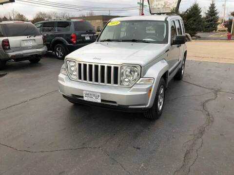 2012 Jeep Liberty for sale at SHEFFIELD MOTORS INC in Kenosha WI