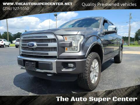 2016 Ford F-150 for sale at The Auto Super Center in Centre AL