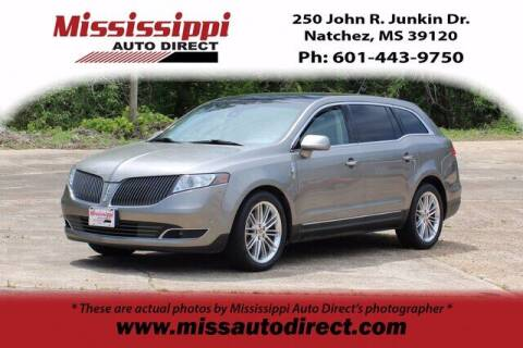 2015 Lincoln MKT for sale at Auto Group South - Mississippi Auto Direct in Natchez MS