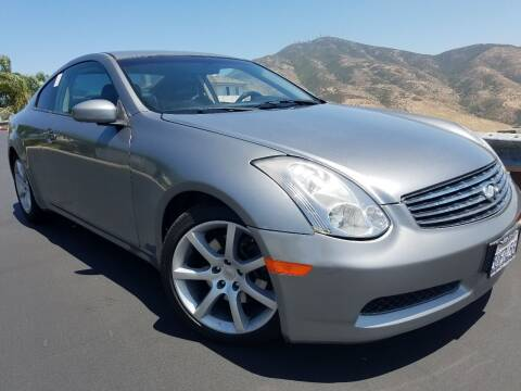 2006 Infiniti G35 for sale at Trini-D Auto Sales Center in San Diego CA