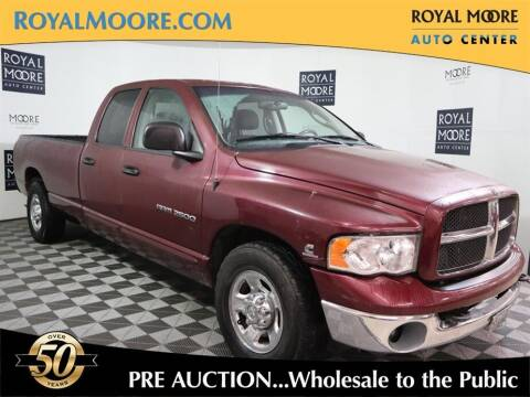 2003 Dodge Ram Pickup 2500 for sale at Royal Moore Custom Finance in Hillsboro OR
