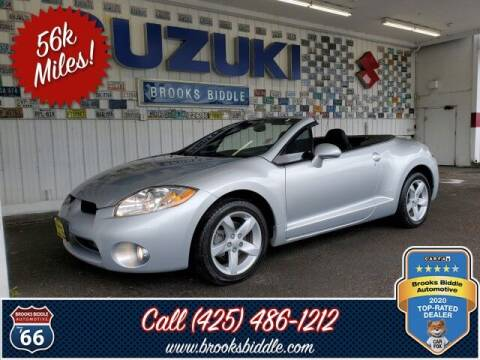 2008 Mitsubishi Eclipse Spyder for sale at BROOKS BIDDLE AUTOMOTIVE in Bothell WA