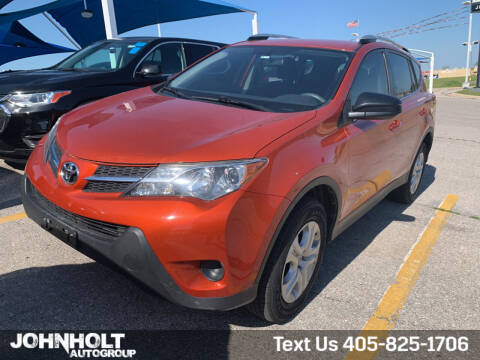 2015 Toyota RAV4 for sale at JOHN HOLT AUTO GROUP, INC. in Chickasha OK